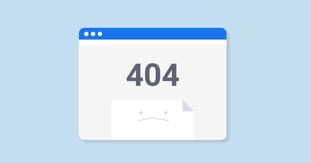 اصول طراحی صفحه 404