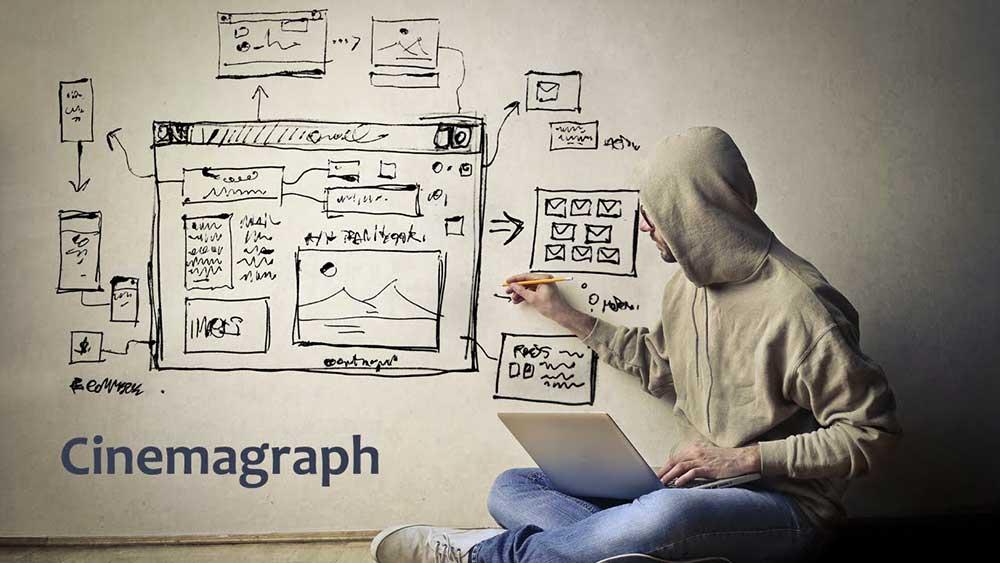 سینما گرافی در طراحی سایت
