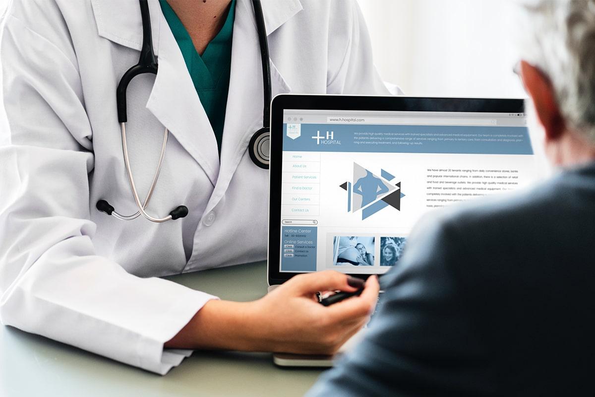 امکانات وبسایت پزشکی